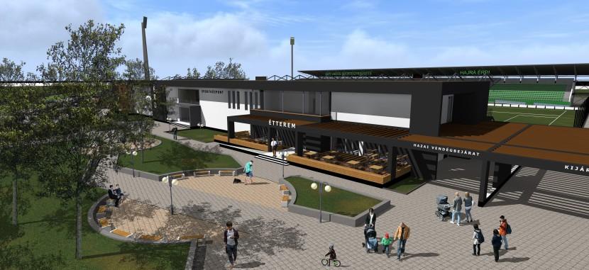 Multifunkcionális sportközpont épül az Ercsi úton