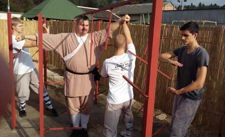 Érden a kung fu elitje