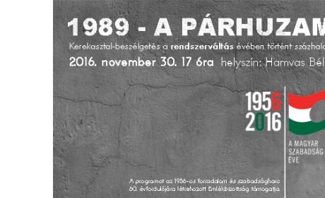 1989 – a párhuzamos év