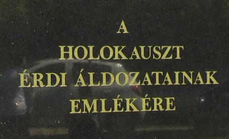 A zsidó holokauszt áldozataira emlékeztek