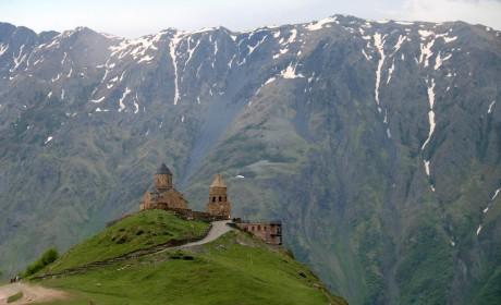 A Kaukázus gyöngyszemei fényképeken