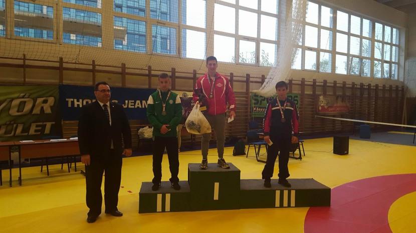 Birkózás: Kovács Bence junior magyar bajnok