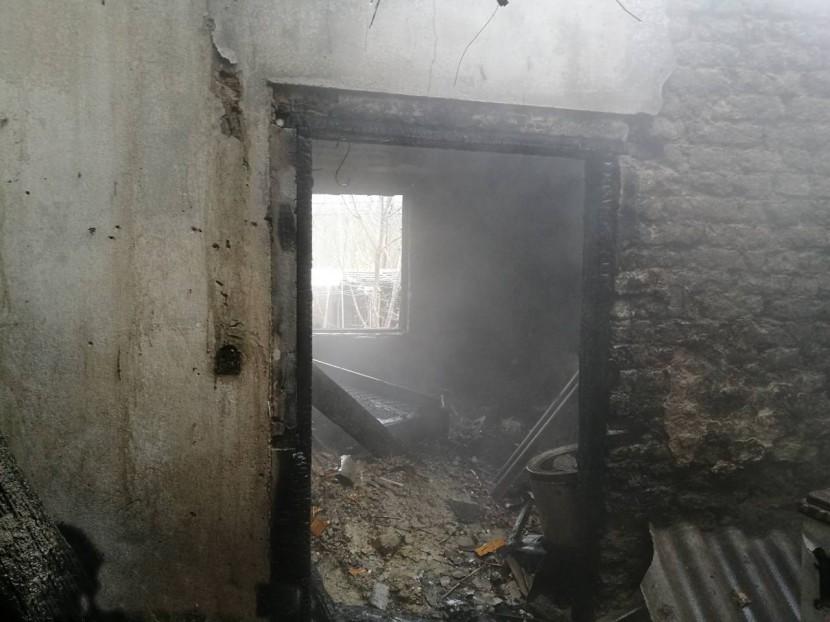Felrobbant a gázpalack, egy súlyos sérült