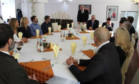 Állami tisztségviselőkkel találkozott Aradszki