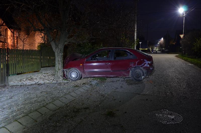 Ittasan okozott balesetet