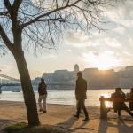 Tavaszias idõjárás Budapesten