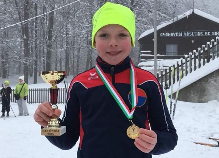 Országos bajnok az érdi sífutó