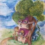 zöldkerti meseház