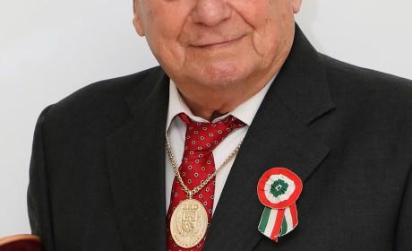 Érd díszpolgára lett Novák Ferenc