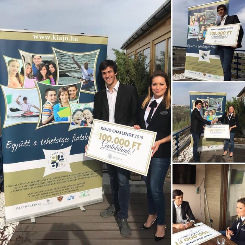 VMG-s diák nyerte a Kiajó különdíját