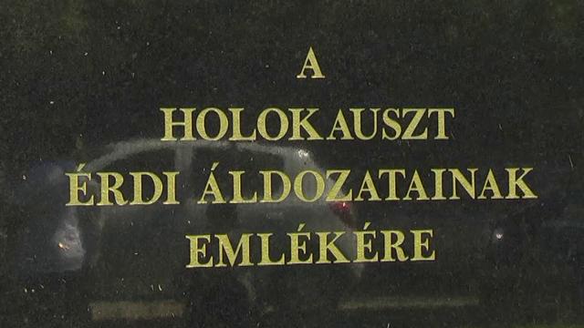 Holokauszt-emléknap Érden