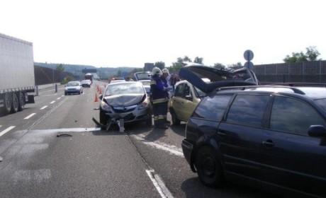 Két baleset egymás után az M7esen