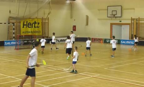 Floorballtábor, először