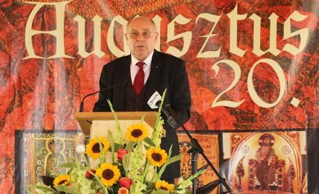 T. Mészáros András augusztus 20-ai ünnepi beszéde