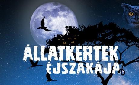 Állatkertek éjszakája Budakeszin is