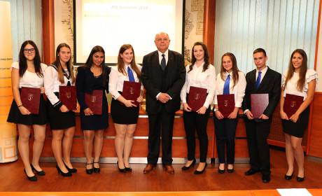 Lázár Evelin lett a diákpolgármester