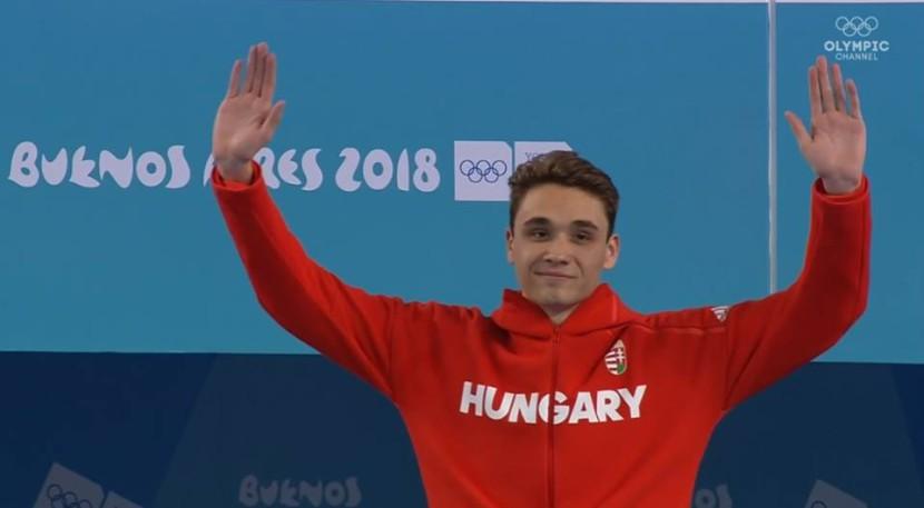 Háromszoros olimpiai bajnok!