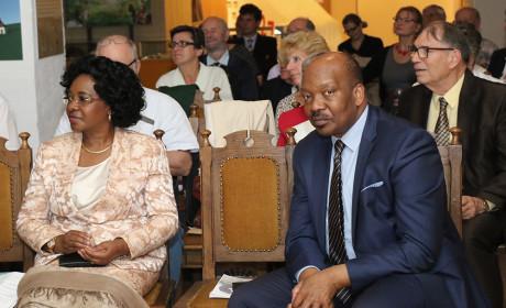 Az Angolai Köztársaság budapesti nagykövete is Érdre látogatott