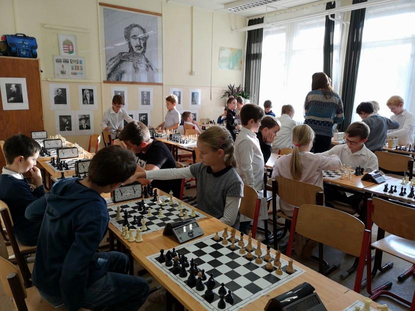 Az Érdligeti nyerte a sakkversenyt