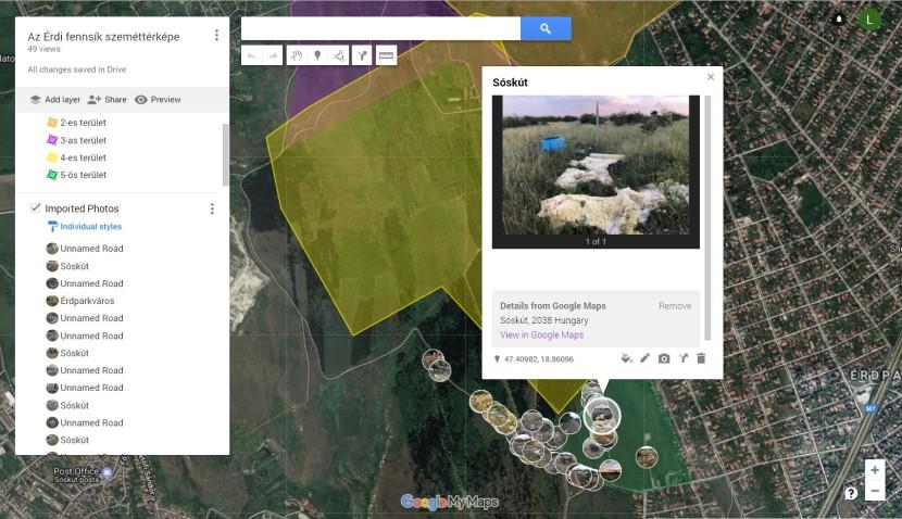 Digitális szeméttérkép készül