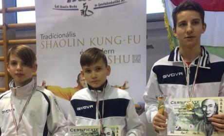 Kung fu: Két arany, egy ezüst