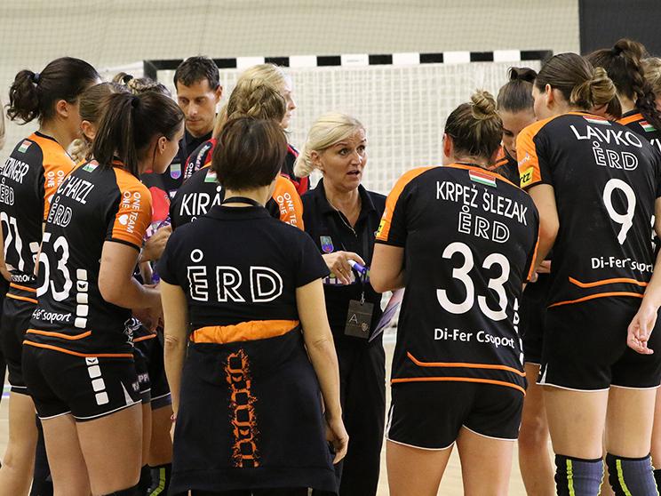 Búcsúzott az EHF-Kupától az ÉRD